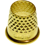 Size 14mm - Open Top Tailor's Thimble