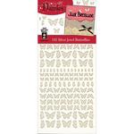 Silver Jewel Butterflies - Dazzles Stickers
