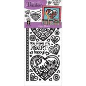 Happy Hearts - Dazzles Stickers