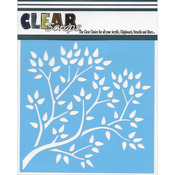"Tree Branch - Clear Scraps Stencils 6""X6"""