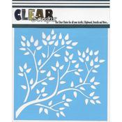 "Tree Branch - Clear Scraps Stencils 6""X6"""