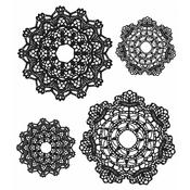 Doily Tim Holtz Cling Stamps