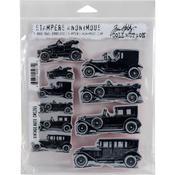 Vintage Auto Tim Holtz Cling Stamps