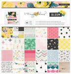 Bloom 12 x 12 Paper Pad - Maggie Holmes
