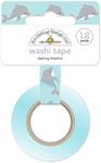 Dashing Dolphins Washi Tape - Doodlebug