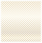 White Gold Foil Specialty Sheet - Carta Bella