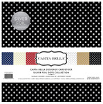 Silver Foiled Dots Collection Kit - Carta Bella