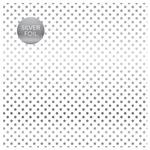 White Silver Foil Specialty Sheet - Carta Bella