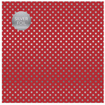 Red Silver Foil Specialty Sheet - Carta Bella