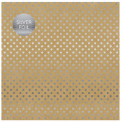 Kraft Silver Foil Specialty Sheet - Carta Bella