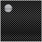 Black Silver Foil Specialty Sheet - Carta Bella