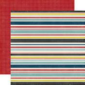 Boy Stripe Paper - Pinstripes - Echo Park
