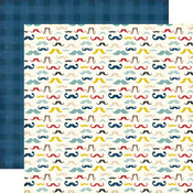Mustaches Paper - Pinstripes - Echo Park