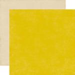 Yellow Tan Paper - Pinstripes - Echo Park