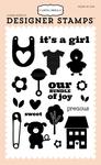 Precious Baby Stamp - Carta Bella