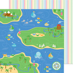 Fisherman's Cove Paper - Anchors Aweigh - Doodlebug