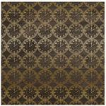 Clock Foil 12 x12 Sheet - Pinstripes - Echo Park