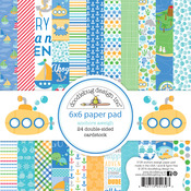 Anchors Aweigh 6 x 6 Paper Pad - Doodlebug