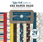 Pinstripes 6 x 6 Paper Pad - Echo Park