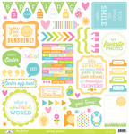 Spring Garden This & That Sticker Sheet - Doodlebug