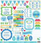 Anchors Aweigh This & That Sticker Sheet - Doodlebug