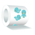 Birdie Sweet Roll Mini Stickers - Doodlebug