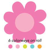 Blossoms Sweet Roll Mini Stickers - Doodlebug - PRE ORDER