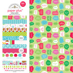 Bright Christmas Paper Plus Pack - Doodlebug