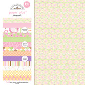 Baby Girl Paper Plus Pack - Doodlebug