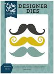 Mustaches Die Set - Pinstripes - Echo Park