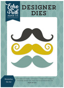 Mustaches Die Set - Pinstripes - Echo Park