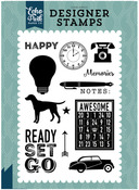 Ready Set Go Stamp - Pinstripes - Echo Park