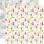 Darling Dresses Paper - Petticoats - Echo Park