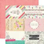 4X6 Journaling Cards Paper - Petticoats - Echo Park