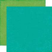 Blue Green Paper - Petticoats - Echo Park