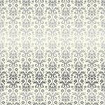 Damask Foil 12 x 12 Sheet - Petticoats - Echo Park