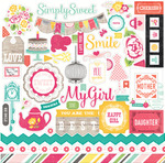 Petticoats 12 x 12 Element Sticker - Petticoats - Echo Park