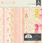 Cuddle Girl 12 x 12 Paper Pad - Authentique