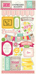 Petticoats 6 x 13 Chipboard Sticker Sheet - Echo Park