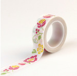 Floral Decorative Tape - Petticoats - Echo Park