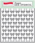 Bows Stencil - Petticoats - Echo Park