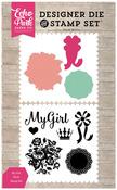 My Girl Die & Stamp Set - Petticoats - Echo Park