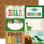 4X6 Journaling Cards Paper - Dino Friends - Echo Park