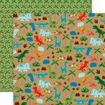 Dinosaur Safari Paper - Dino Friends - Echo Park