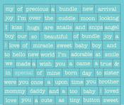 Cuddle Boy Petite Diction Stickers - Authentique