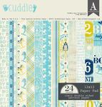 Cuddle Boy 12 x 12 Paper Pad - Authentique