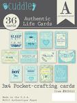 Cuddle Boy Life Cards - Authentique