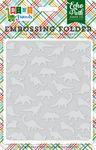 Dinosaurs Embossing Folder - Dino Friends - Echo Park