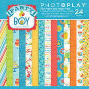 Party Boy 6 x 6 Paper Pad - Photoplay
