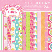 Party Girl 6 x 6 Paper Pad - Photoplay